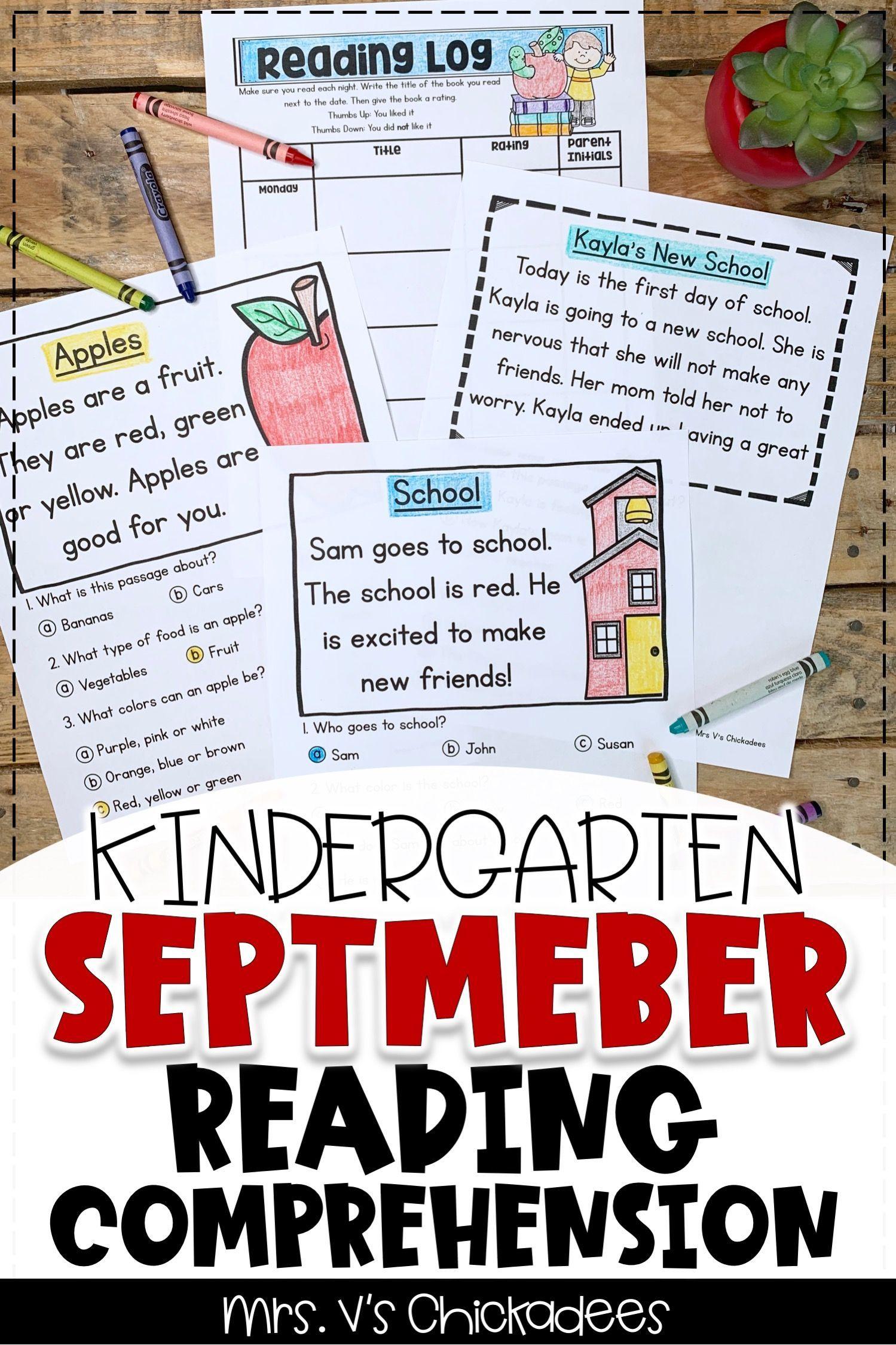 Reading Comprehension Passages Questions September Edition Reading Comprehension Kindergarten Reading Comprehension Kindergarten Comprehension [ 2249 x 1499 Pixel ]