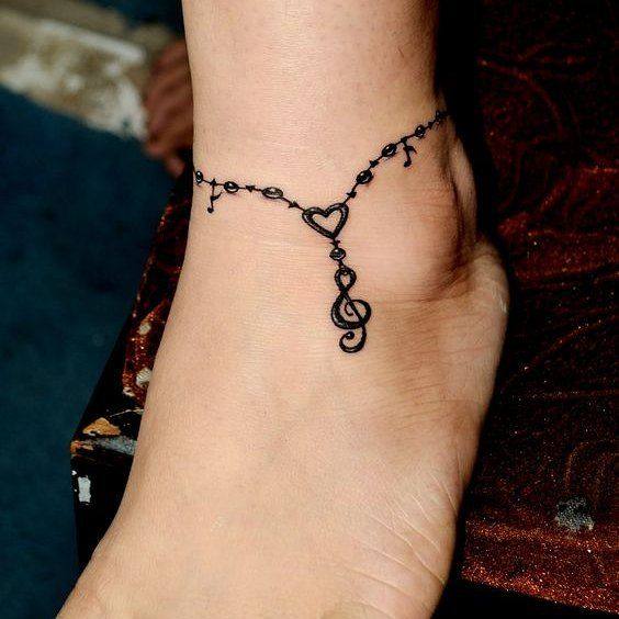 Tattoo Anklets For Girls