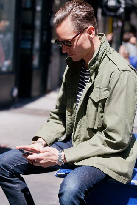stripe shirt we love – Alllick | Military style shirts