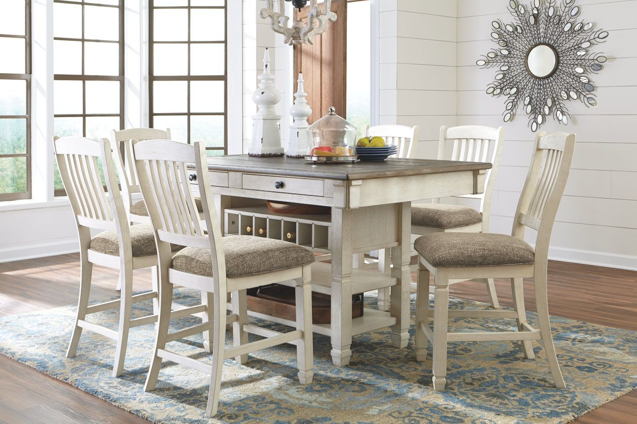 Bolanburg Counter Height Dining Room Table Ashley Furniture
