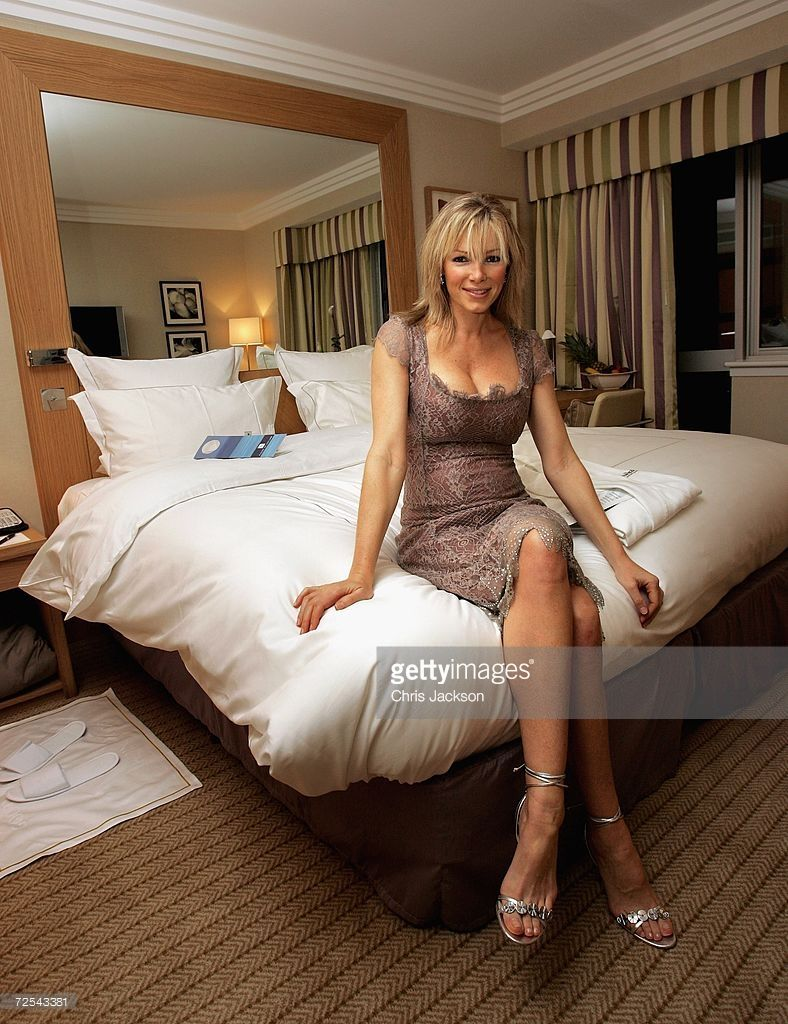Nell McAndrew poses for a portrait in a hotel room at the ...