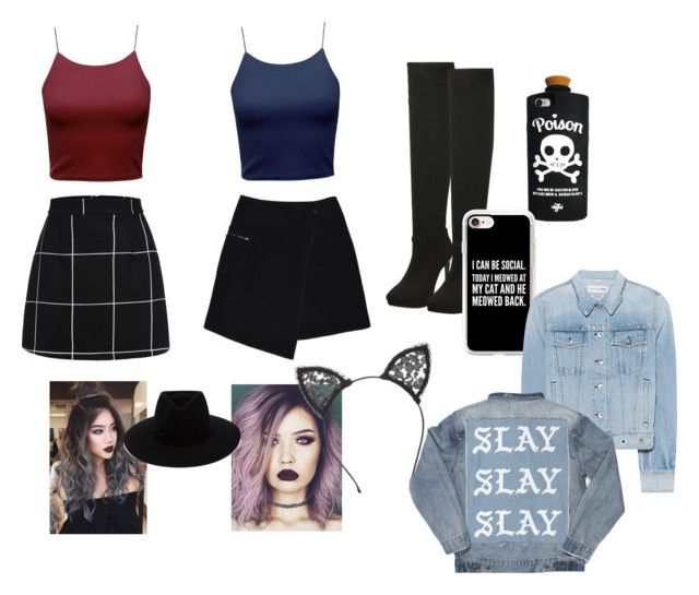 """""""Hang out"""" by marianaenriquezsm on Polyvore featuring MARC CAIN, Fleur du Mal, Casetify and rag & bone"""