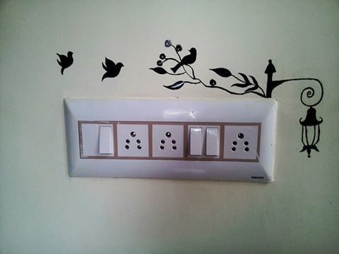 Switchboard Art Wall Painting Decor Diy Wall Painting Wall