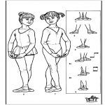 Coloring Pages-Ballet
