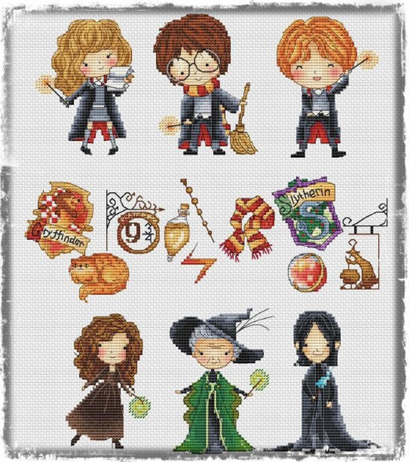 New Instant Download Les Petites Croix De Lucie Harry Potter Etsy Harry Potter Cross Stitch Pattern Disney Cross Stitch Cross Stitch Harry Potter
