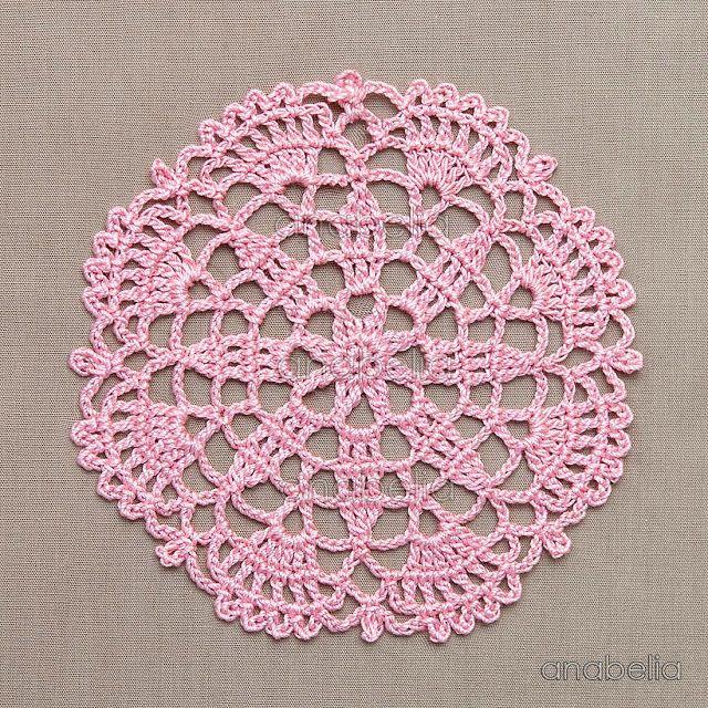 Crochet Lace Motifs Free Patterns By Anabelia Craft Design Knit