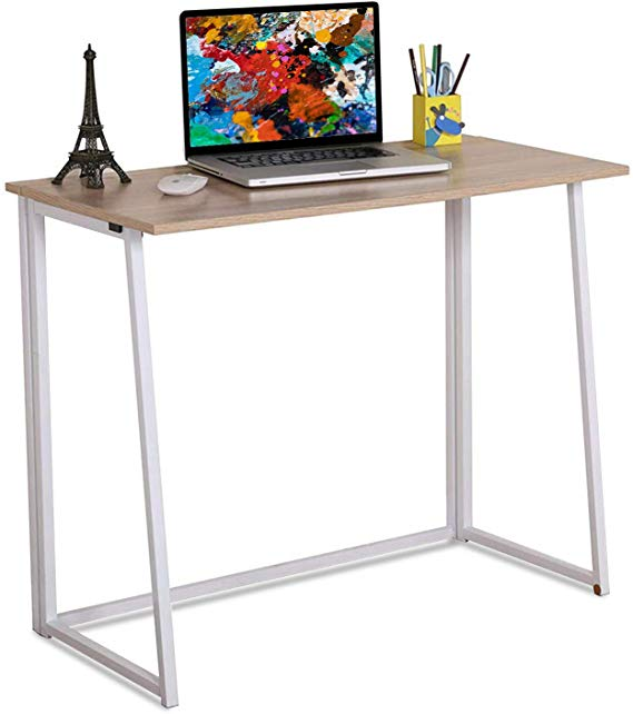 Amazon Com 4nm Folding Table Small Foldable Computer Desk Home