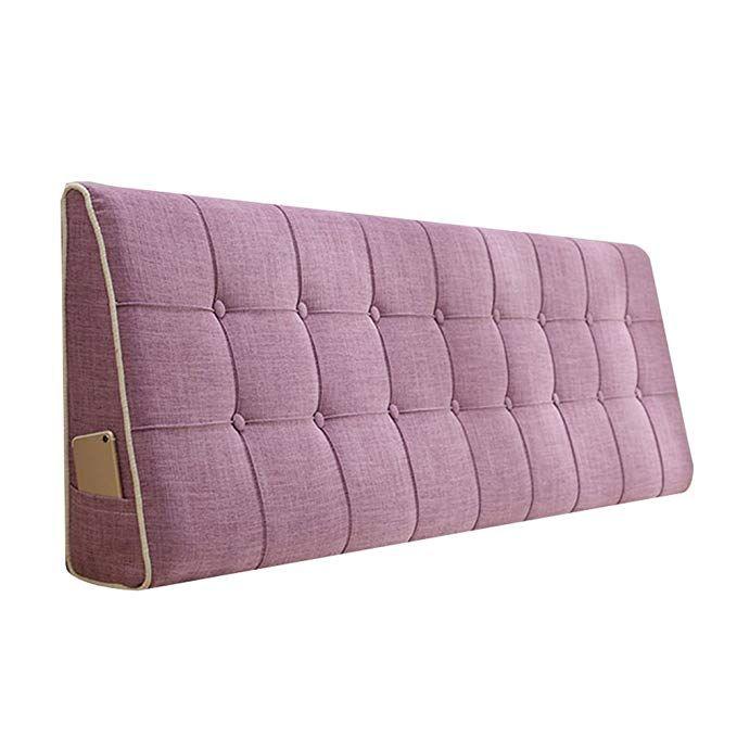WENZHE Kopfteil Kissen Bett Rückenkissen Rückenlehne Stoff