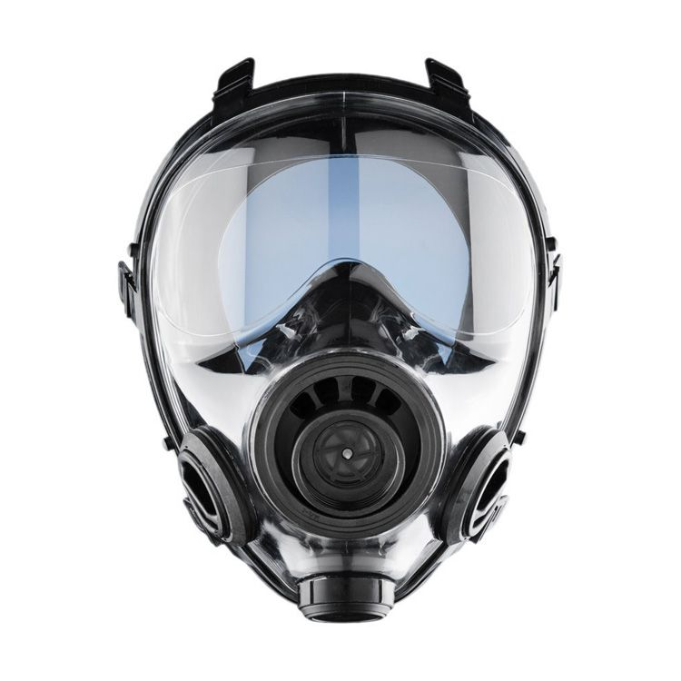 Military and Police Tactical Gas Mask Rated For Chemical, Biological