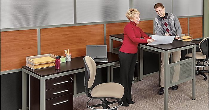 Incorporate A Balance Of Standing And Sitting At Work Business - Standing conference room table