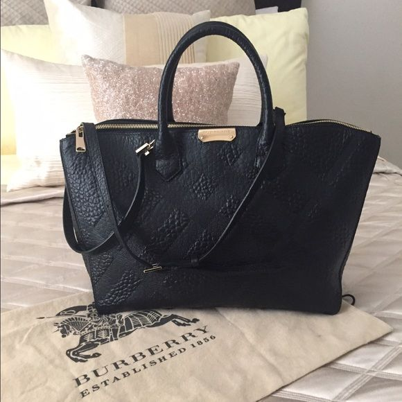 Burberry Embossed Purse
