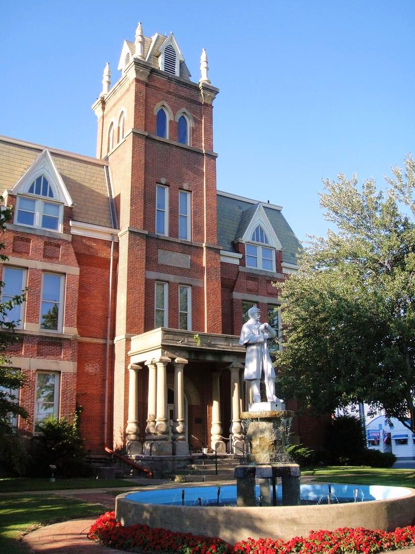 Pin by Heritage Ohio on Ohios Historic Courthouses