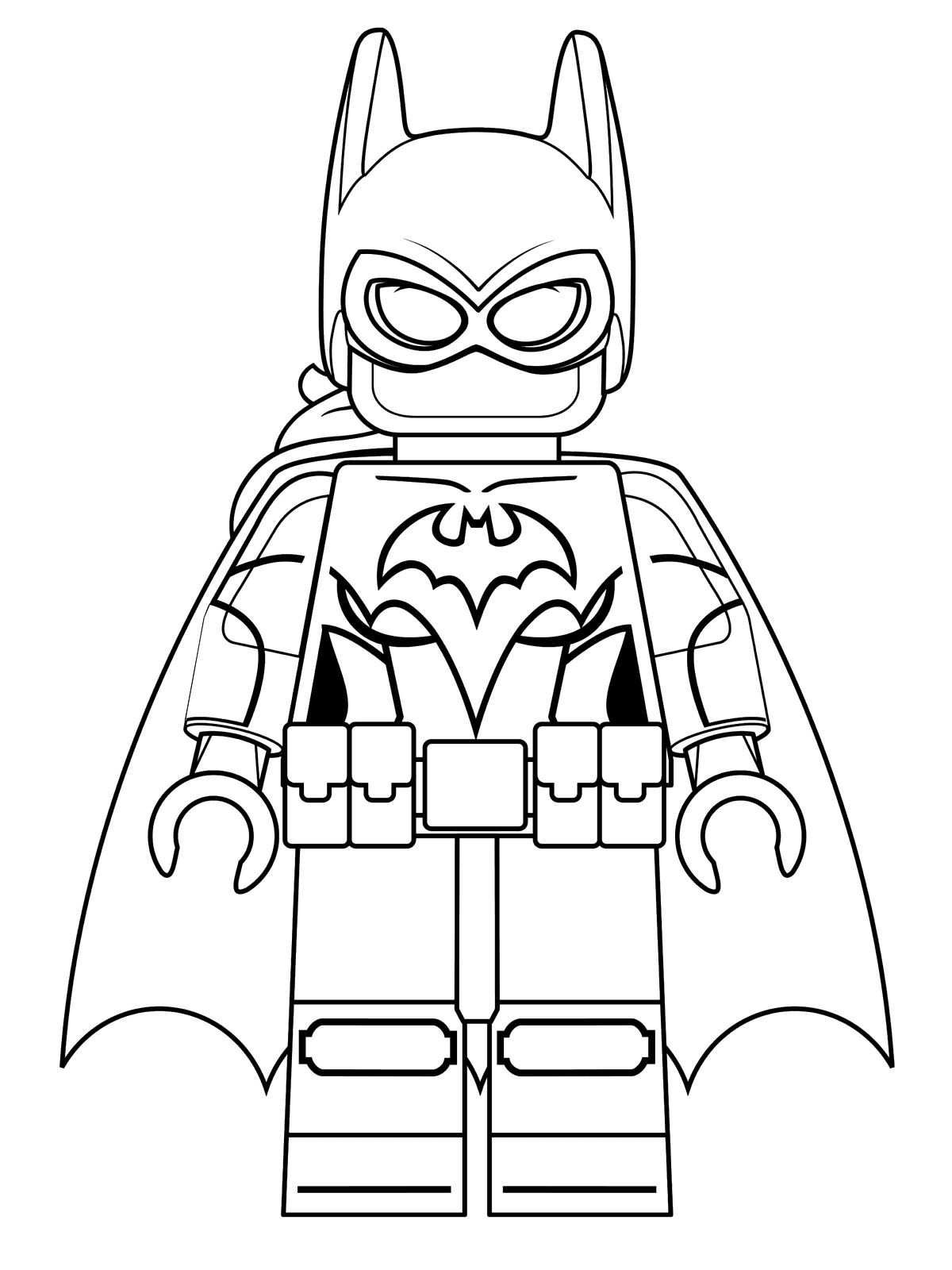 The Lego Movie 2 | Drawing Lego Minifigures Coloring Pages | 1600x1200