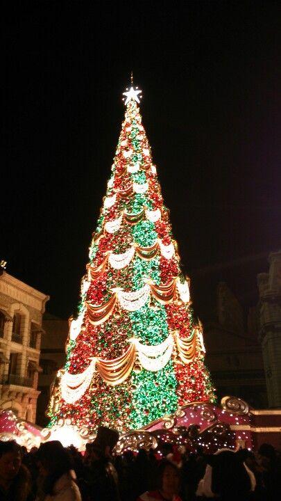 Chrismas Tree Universal Studios 100th Studio Japan Osaka Japan Chrismas Tree Christmas Tree Tree