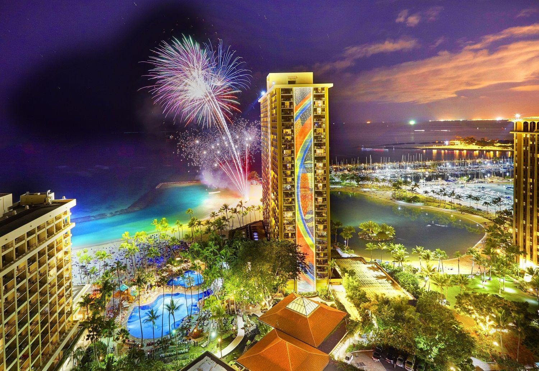 Splendid Dining On Waikiki Beach At Bali Steak Hilton Hawaiian