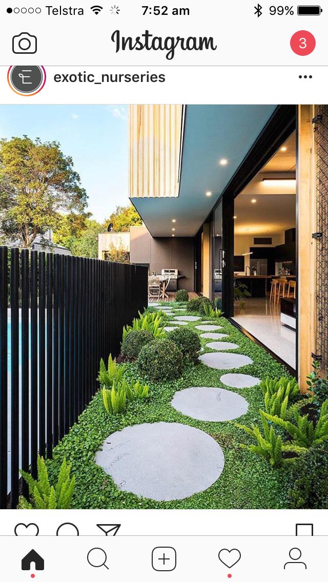 Idea for my backyard Minimalist garden, Small backyard