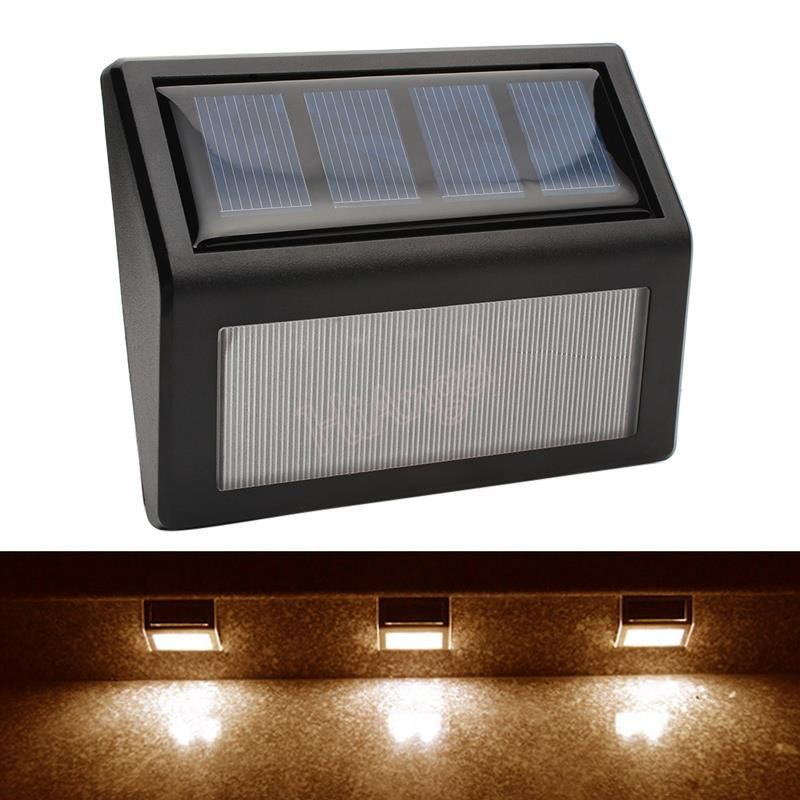 Ip55 led solar lights wall lamp waterproof garden light outdoor ip55 led solar lights wall lamp waterproof garden light outdoor landscape lawn lamp 6 led fence aloadofball Image collections