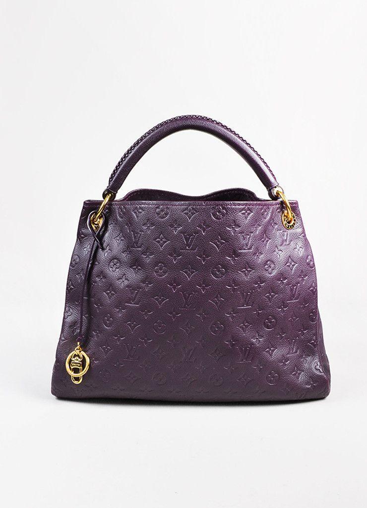 f371b6968c67 Louis Vuitton Aubergine Purple Monogram Empreinte Leather