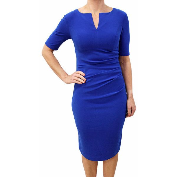 JOSEPH RIBKOFF Kasmira Dress 172012 (€175) ❤ liked on Polyvore ...