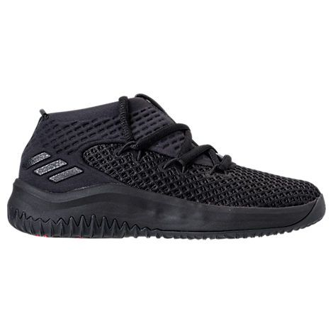 ADIDAS ORIGINALS BOYS PRESCHOOL DAME 4 BASKETBALL SHOES, BLACK.  adidasoriginals shoes