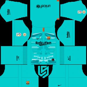 Tomar un baño Procesando éxtasis  F.C. Barcelona Nike Kits 2019 -20 For Dream League Soccer 2019 - RisTechy |  Barcelona football kit, Goalkeeper kits, Barcelona soccer