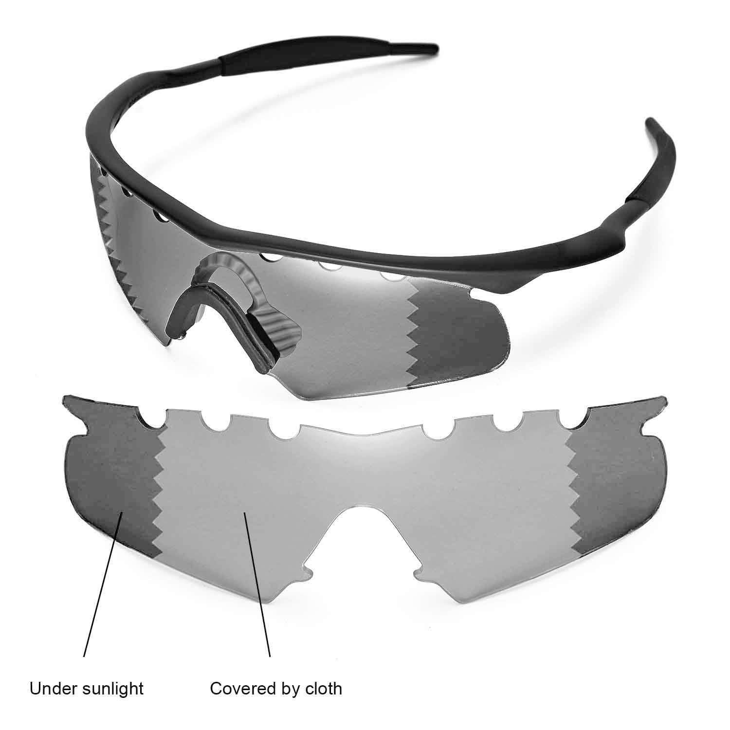 Wl Polarized Transition Vented Replacement Lenses For Oakley M Frame ...