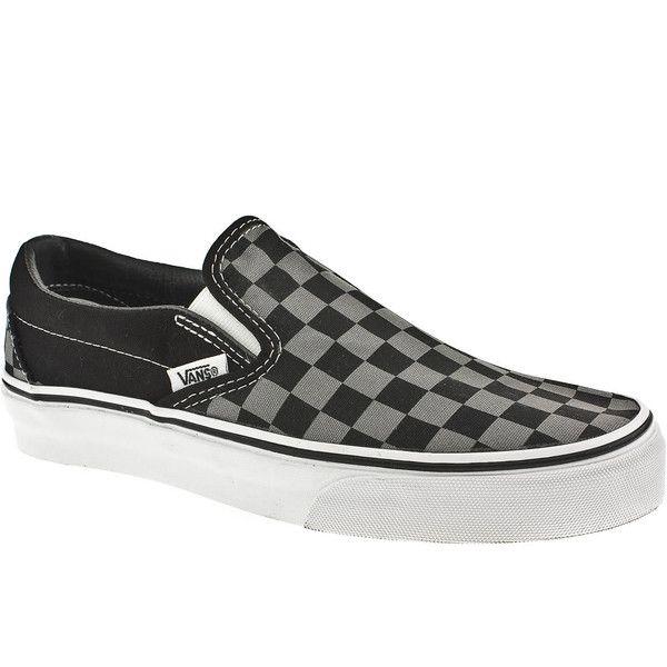 black slip on vans junior
