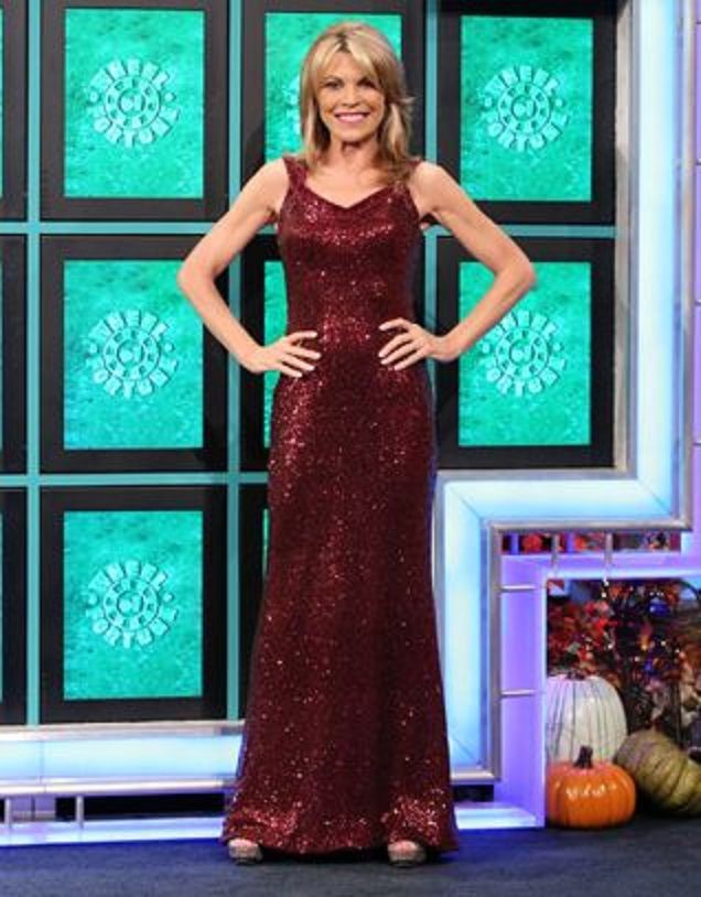 Halloween Week 2015 Gown #1 | Vanna White\'s Gowns on October 26-30 ...