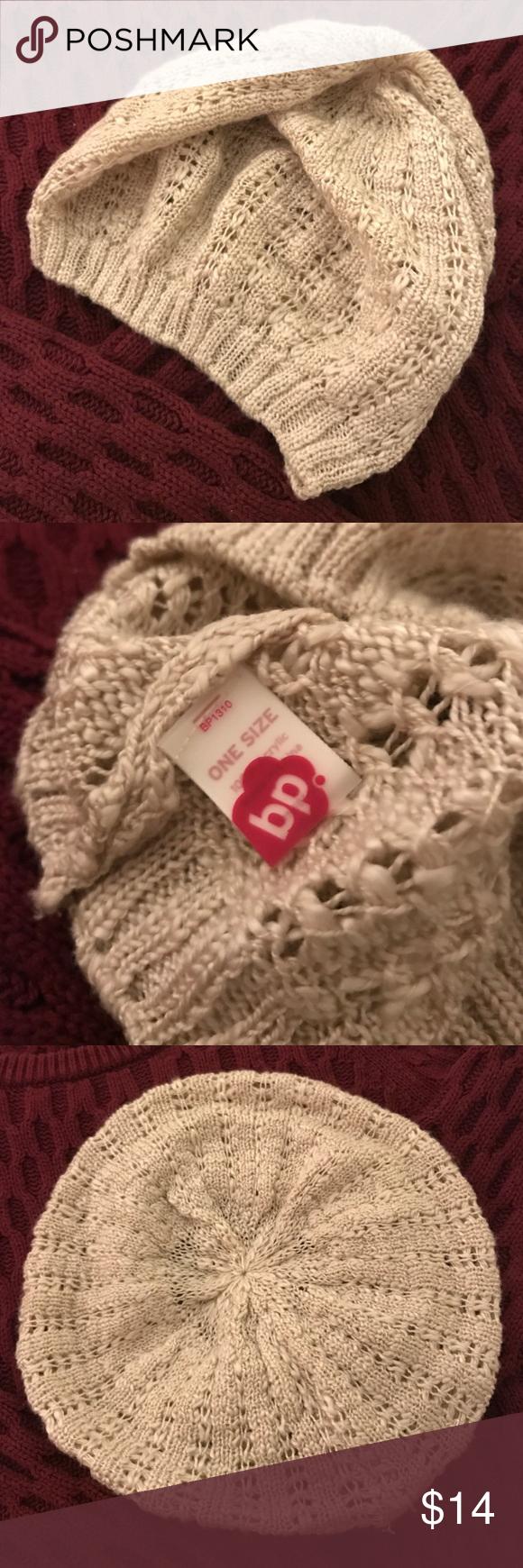 BP Knit Beret Lightweight knit beret frlm BP / excellent condition bp Accessories Hats