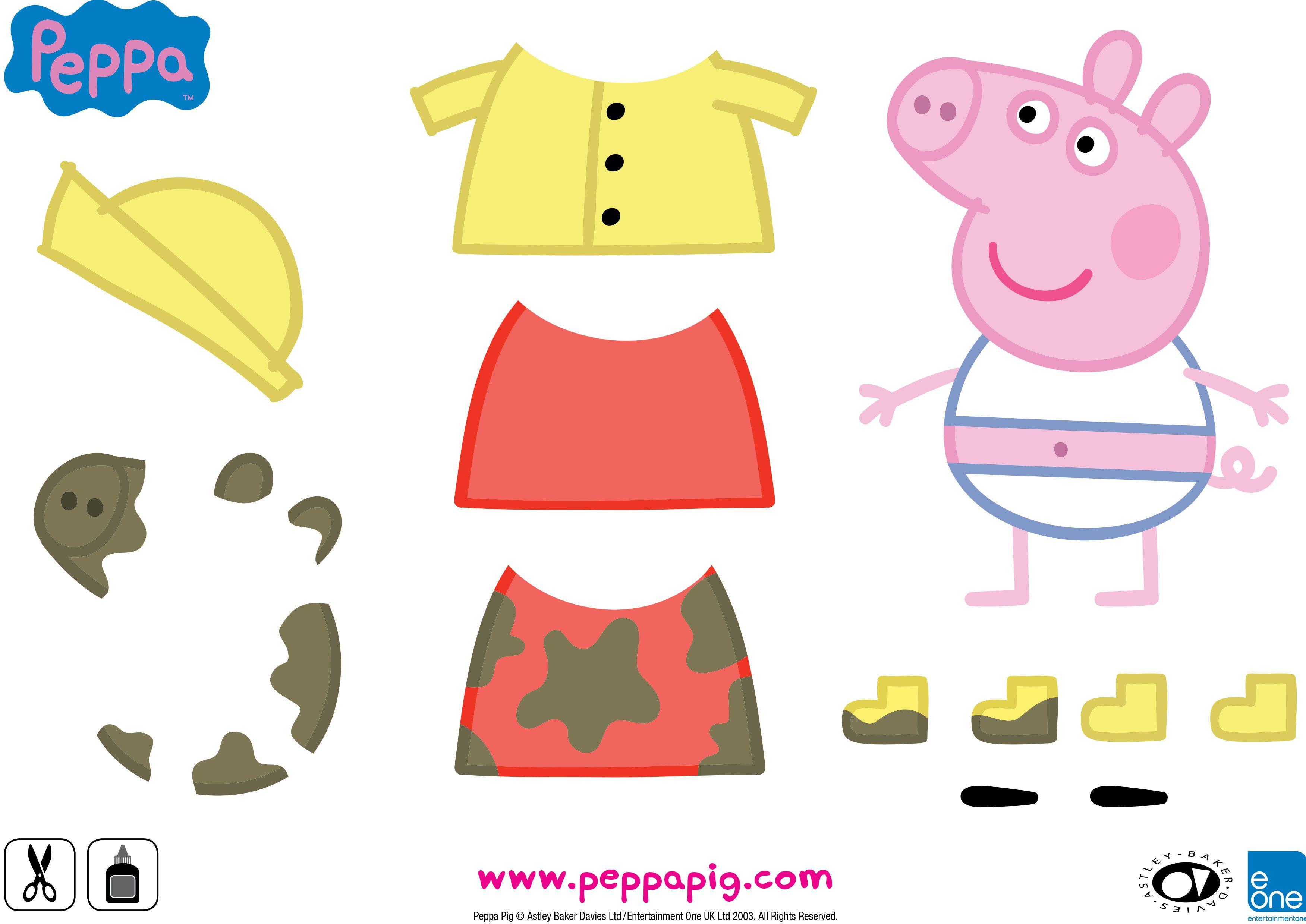 resultado de imagen para peppa dress up ropa pinterest