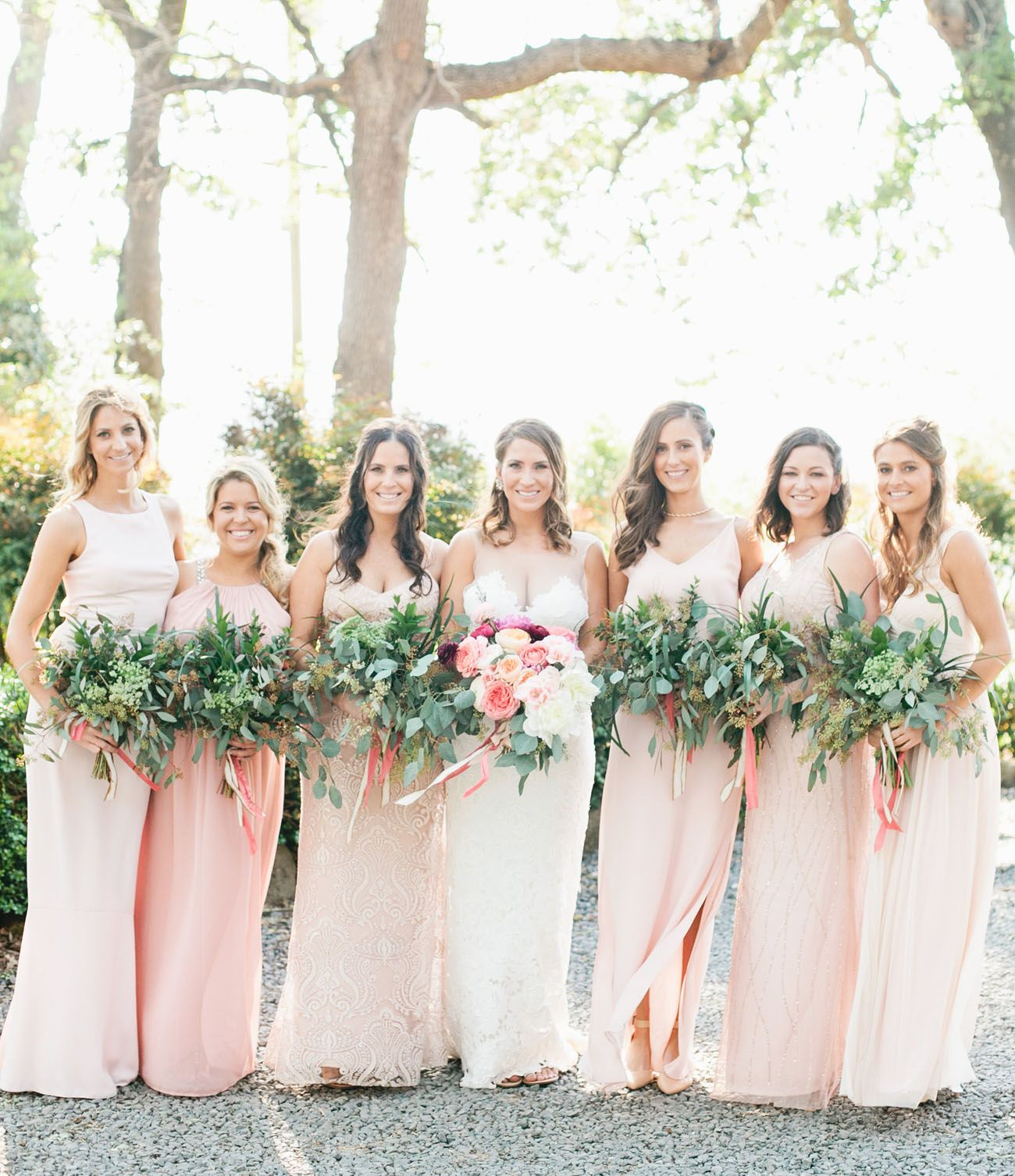 Lush + Romantic Annadel Estate Wedding: Janna + Sean | Blush pink ...