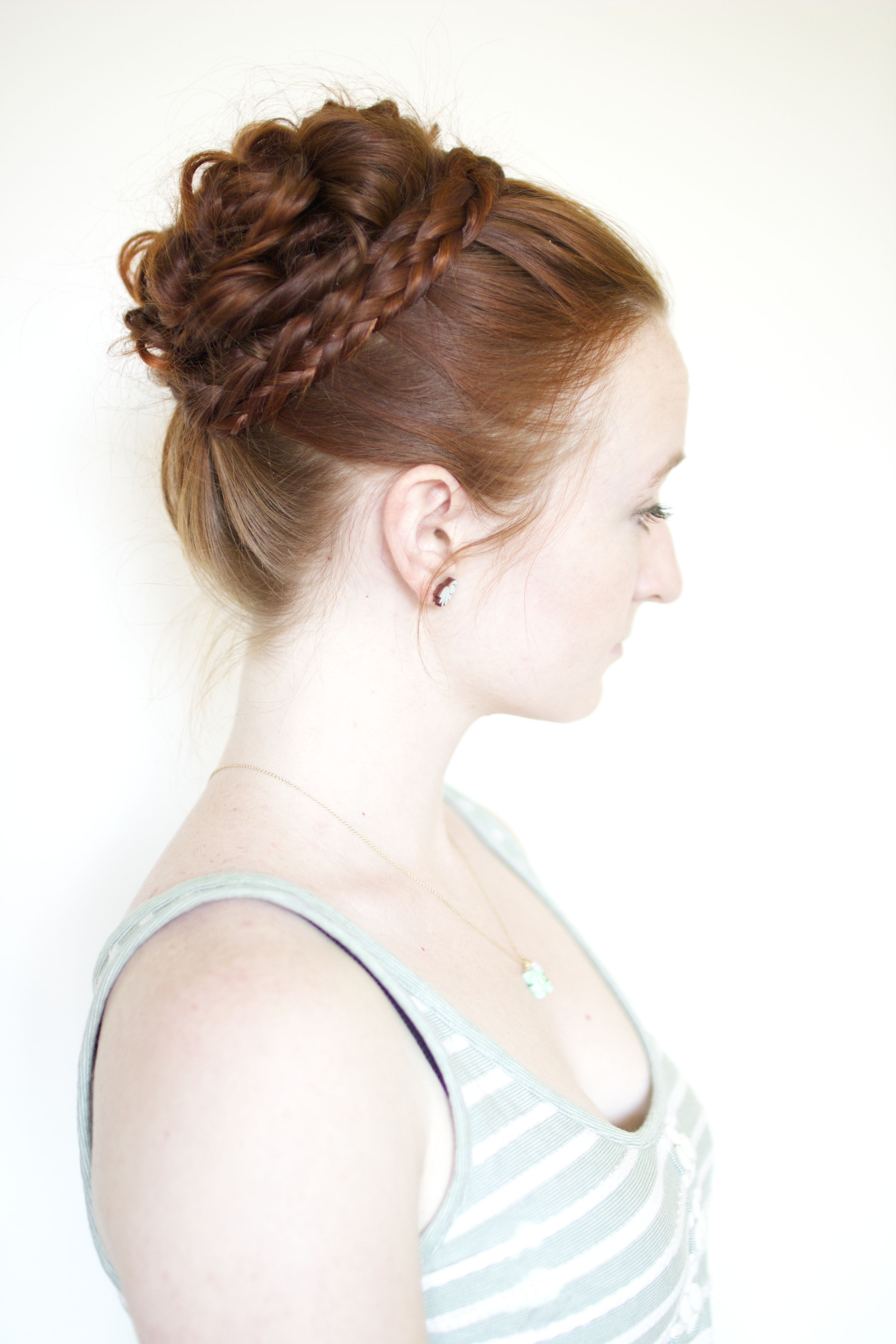 Elegant Updos from Outlander 1800s hairstyles, Long hair