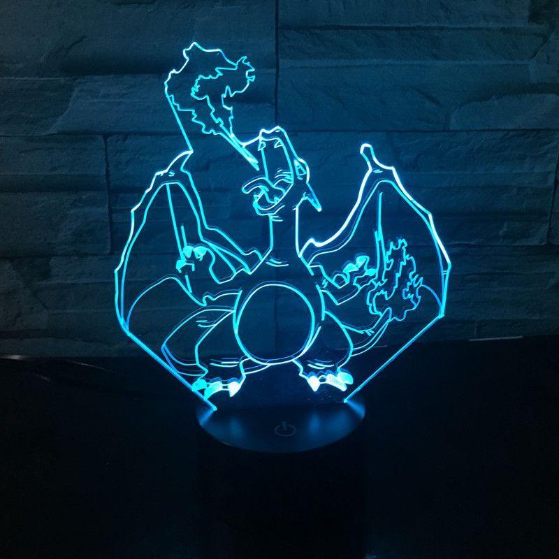 Pokemon Go 3d Led Lamp Pokemon Led Lamp Color Change