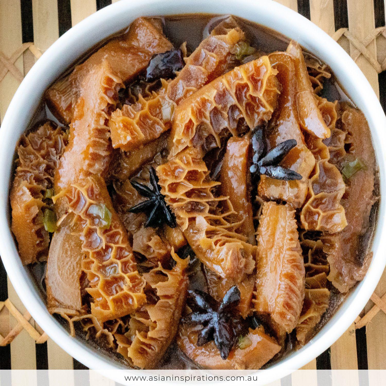 Yum Cha Honeycomb Tripe Asian Inspirations Recipe Offal Recipes Tripe Recipes Dim Sum Recipes
