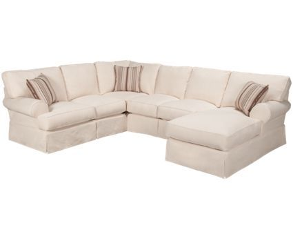 Synergy Home Furnishings Providence Providence 4 Piece Sectional   Jordanu0027s  Furniture