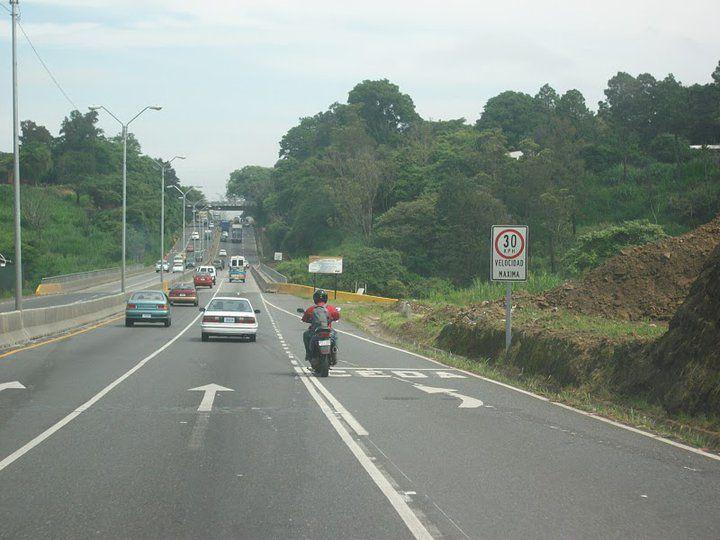 30 km/h en la pista
