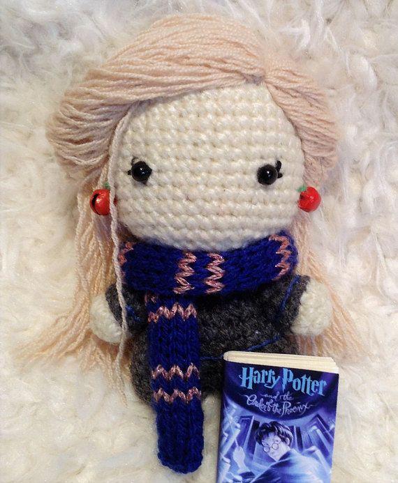 Luna Lovegood Handmade Amigurumi Crochet doll   Potter!   Pinterest ...