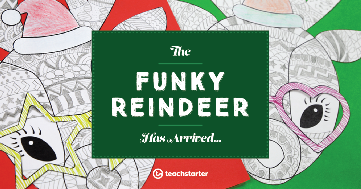 Christmas Craft | The One and Only Funky Reindeer | Teach Starter