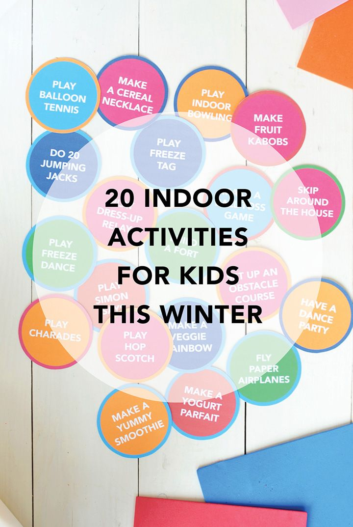 indoor activities for kids. Interesting For Check Out This List Of 20 Indoor Activities For Kids This Is To For Kids