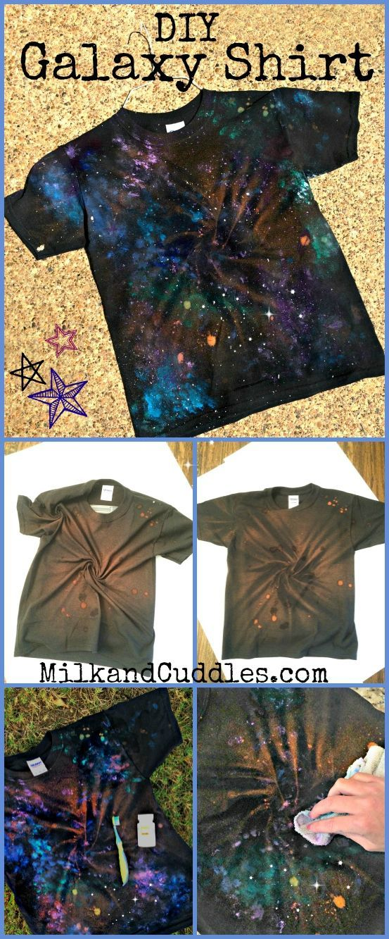 Do you have a science or astronomy fan in your house? We do! And · Galaxy  Shirts2017 ...