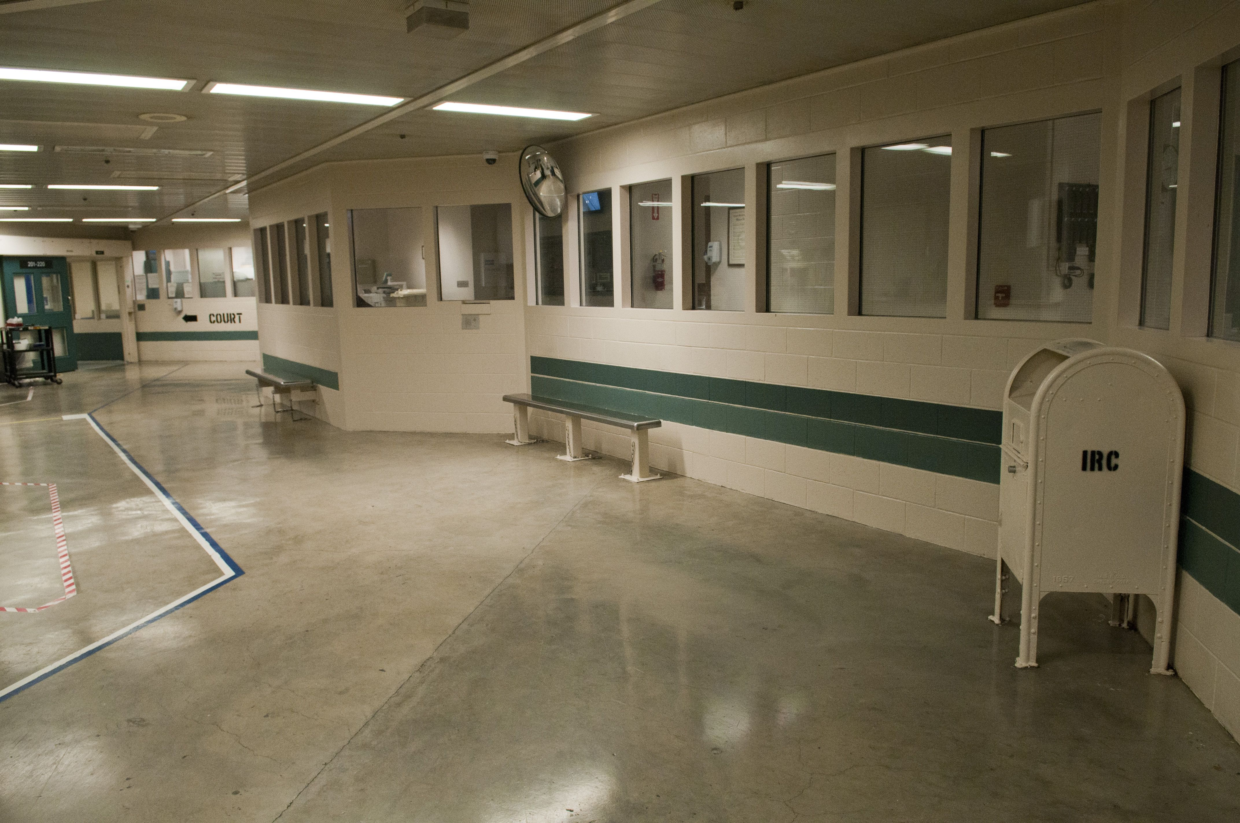 Inmate Reception Center Irc Holding Area La County