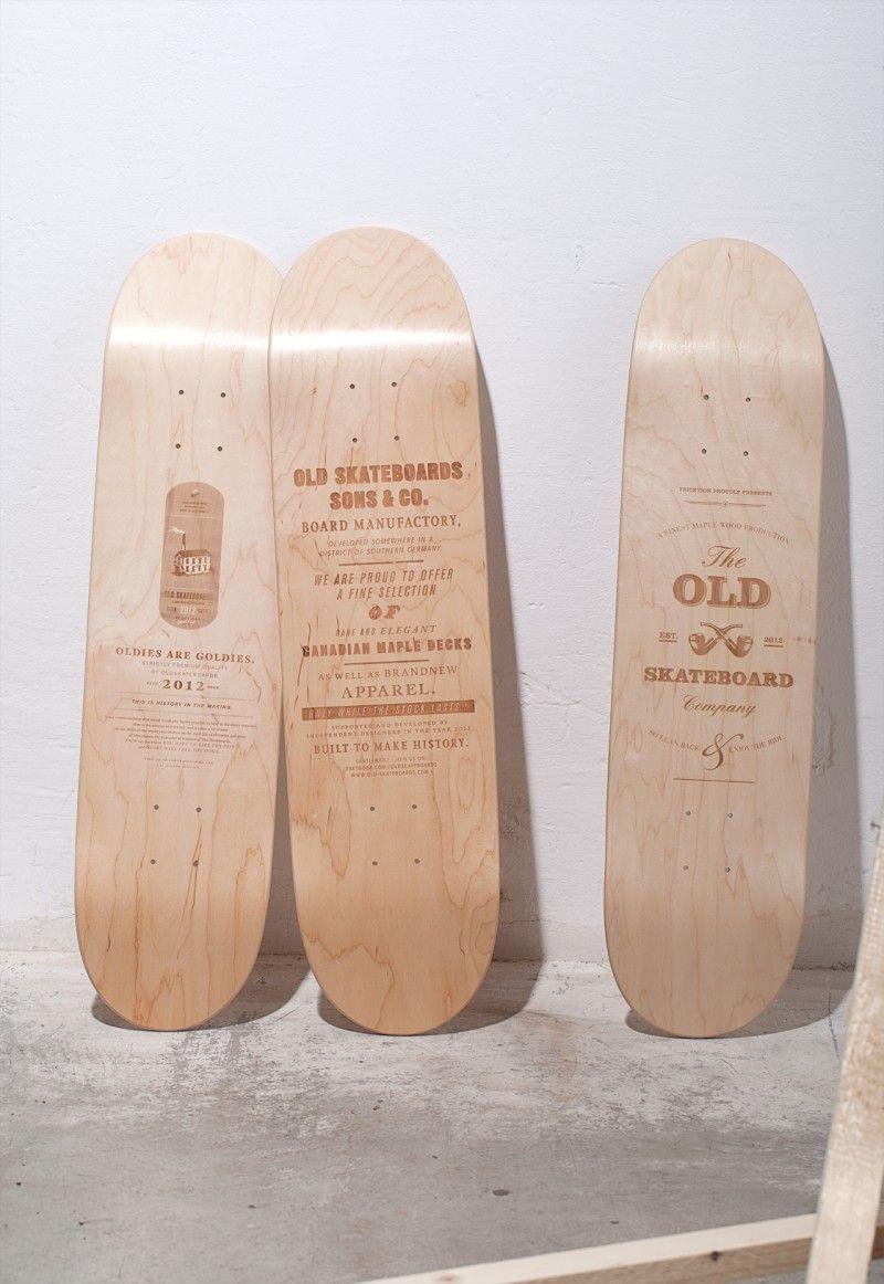 Rollbrett Bauhaus skateboards skateboard product design and board