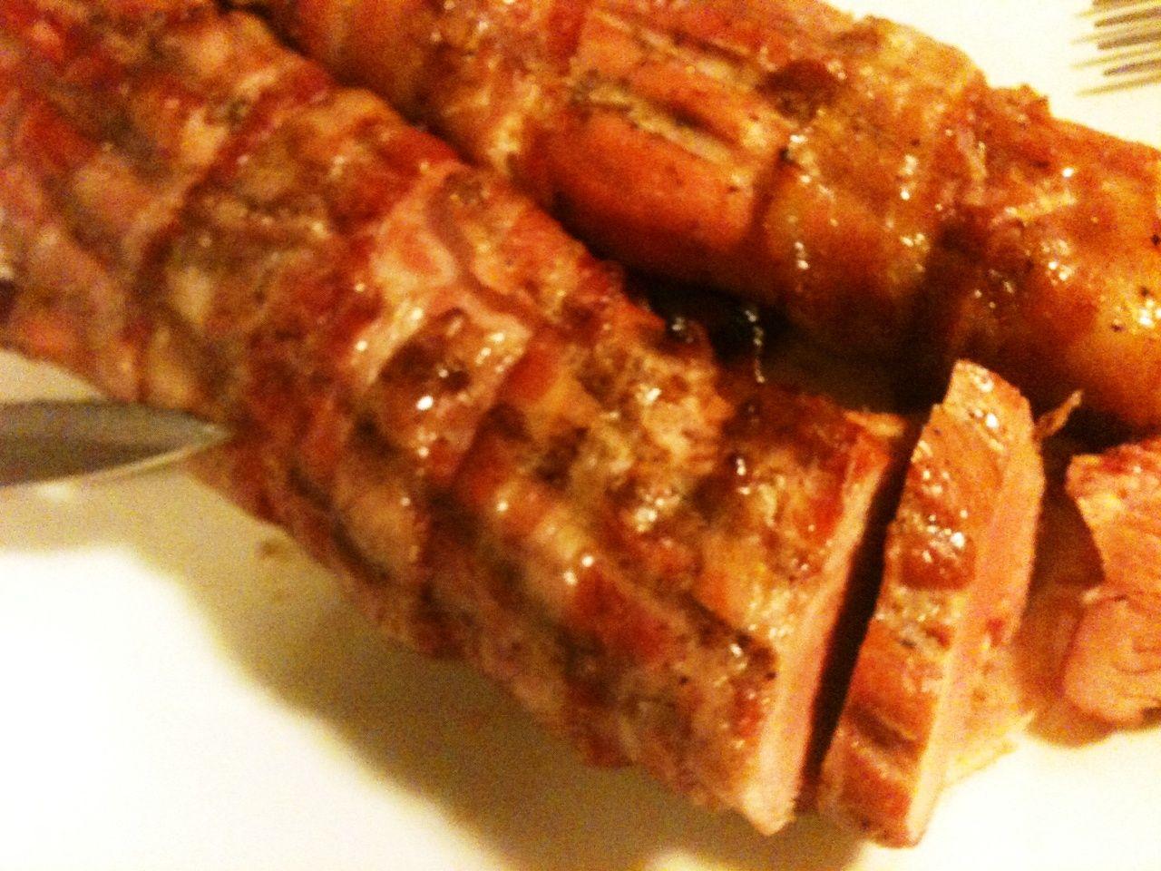 Oh Hells Yeah – Bacon-Wrapped Pork Tenderloin