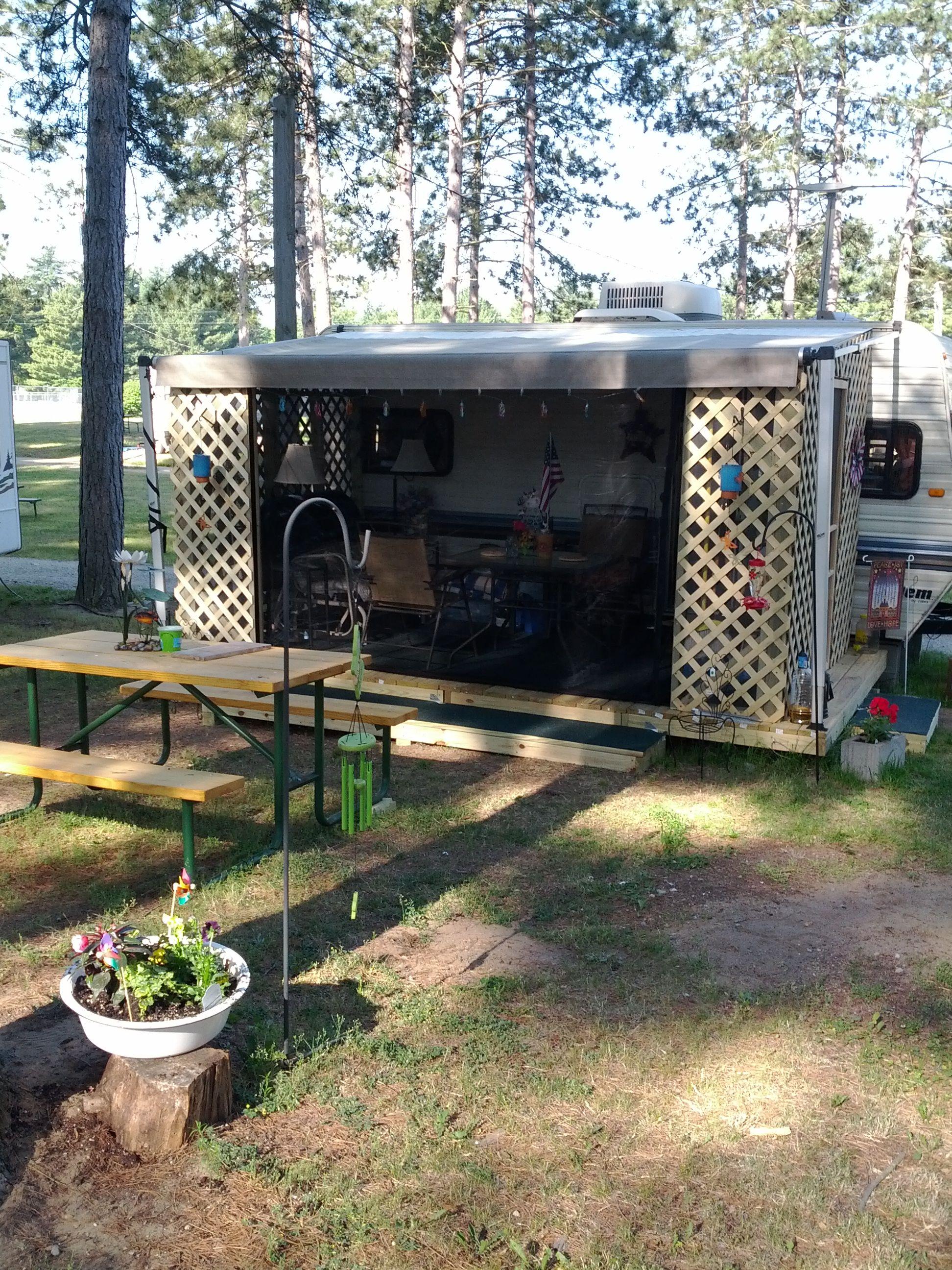 Camper With Add A Room Add A Room Camper Living Rv