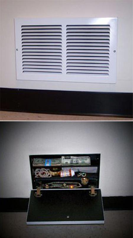 15 Secret Hiding Spots In Your Home Secret Hiding Spots Hidden Compartments Hiding Spots