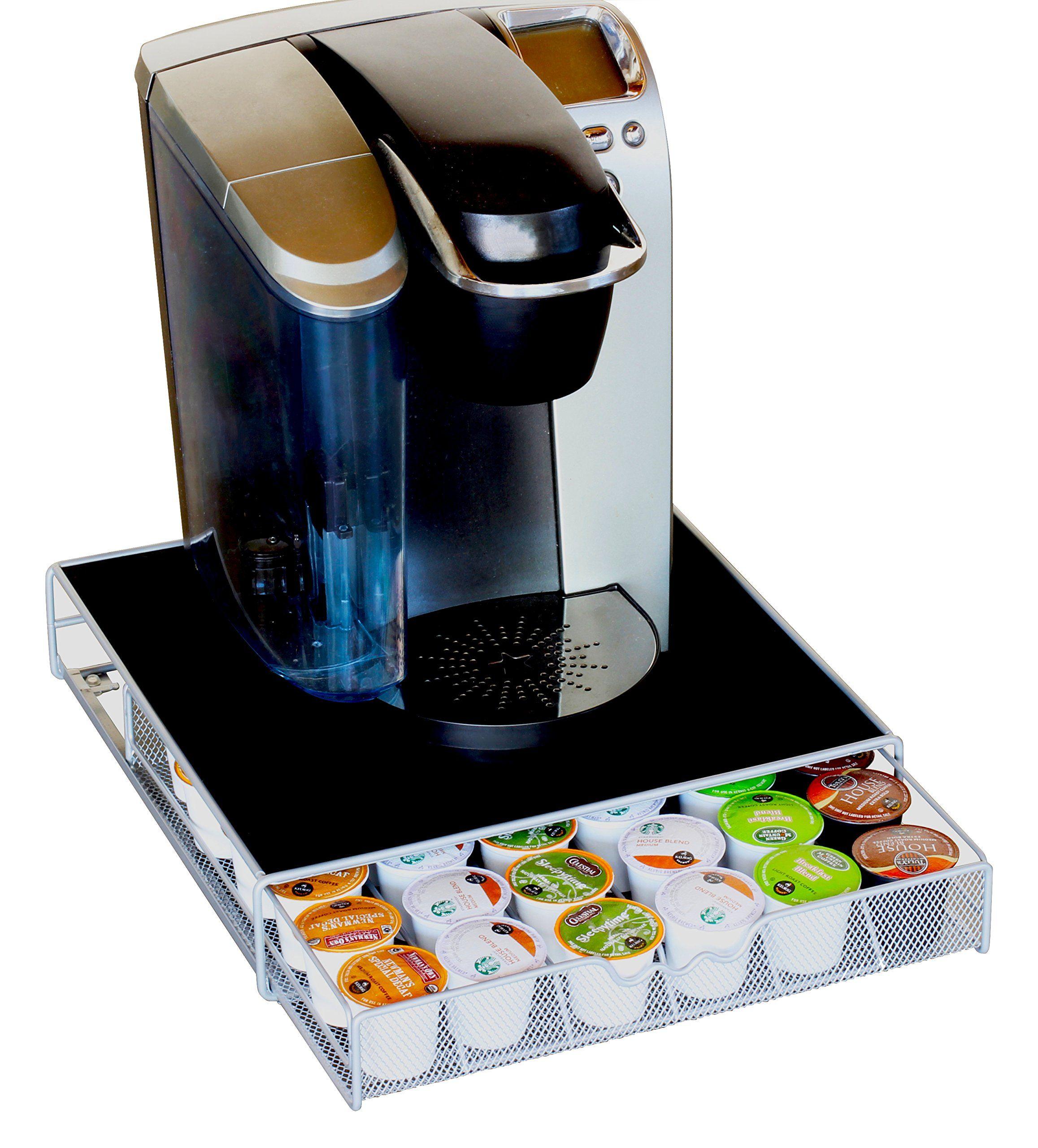 Decobros kcup storage drawer holder for