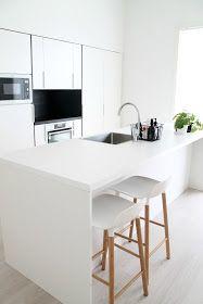 Valkoinen Puustelli keittiö kök