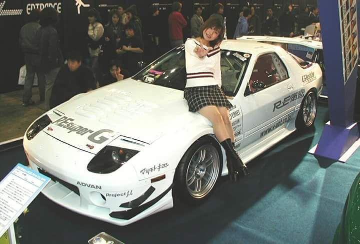 90's Tokyo Autoshow #tokyo #autoshow #90s #jdm #girl # ...