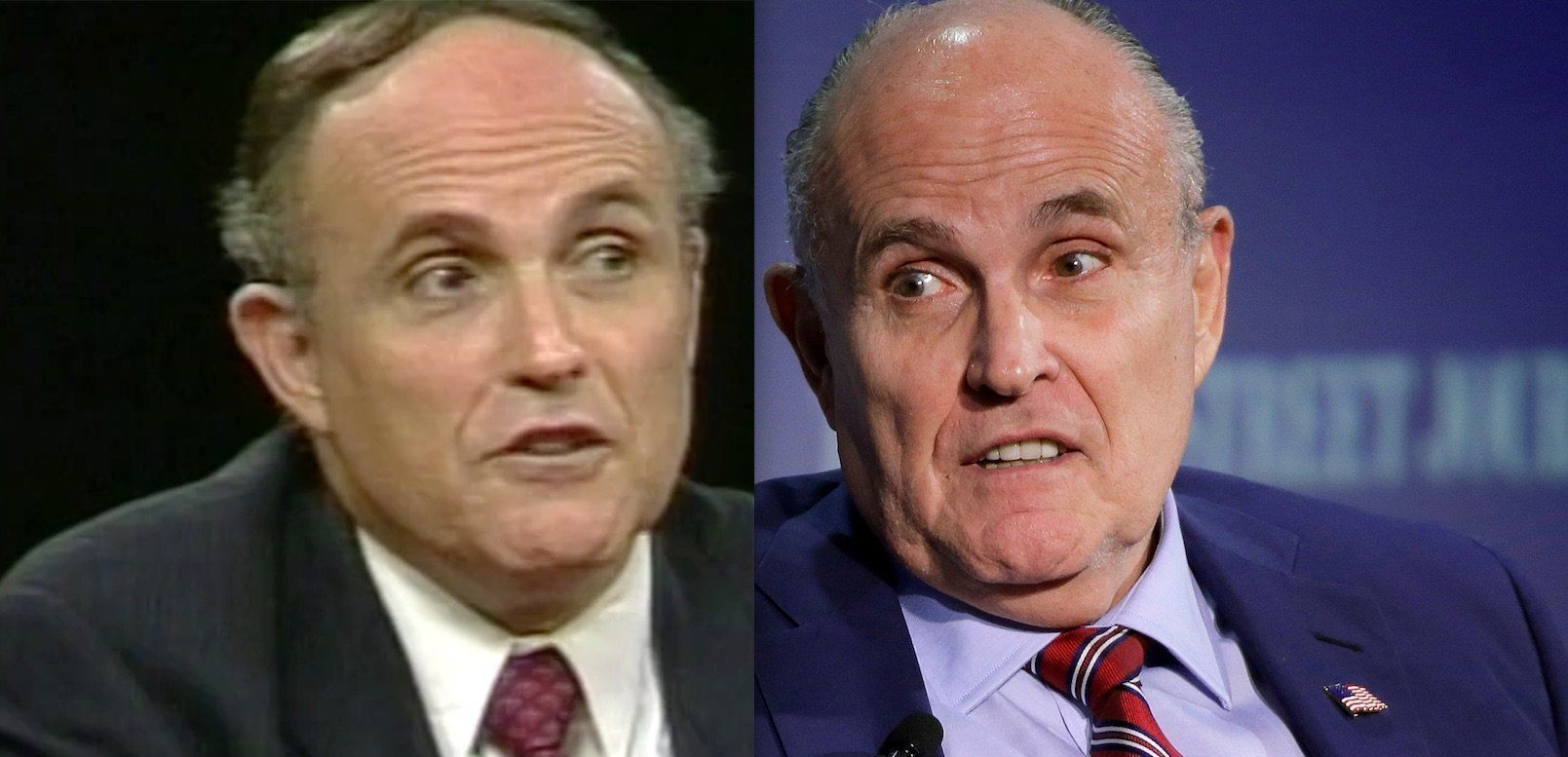 Watch 1998 Rudy Giuliani Completely Torpedo 2018 Rudy Giuliani S Trump Arguments Rudy Giuliani Argument Trump