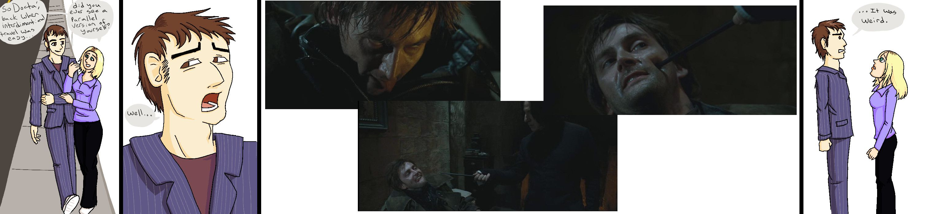 The Doctor as Barty Crouch Jr. by Flameshadow117.deviantart.com